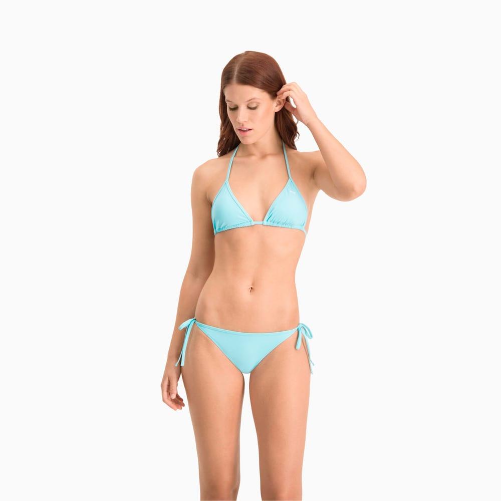 Зображення Puma Ліф для плавання PUMA Swim Women Triangle Bikini Top #1: Angel Blue