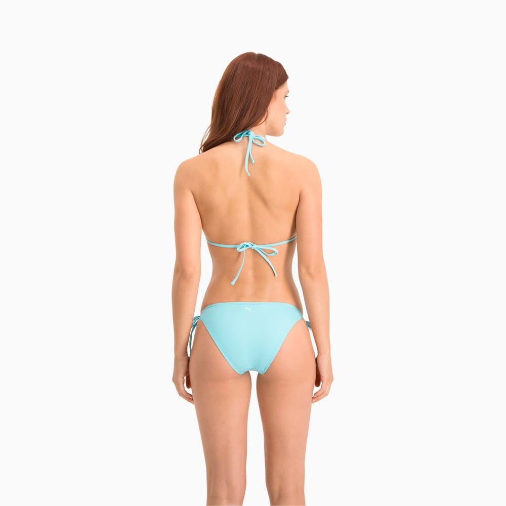 Зображення Puma Ліф для плавання PUMA Swim Women Triangle Bikini Top #2: Angel Blue