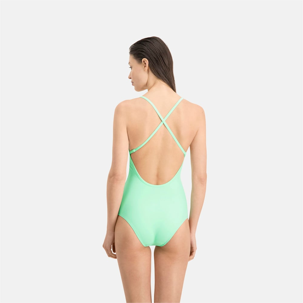 Изображение Puma Купальник PUMA Swim Women V-neck Crossback Swimsuit #2