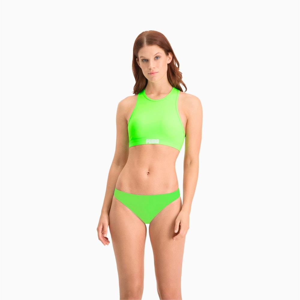 Изображение Puma Плавки PUMA Swim Women Classic Bikini Bottom #1: neon green