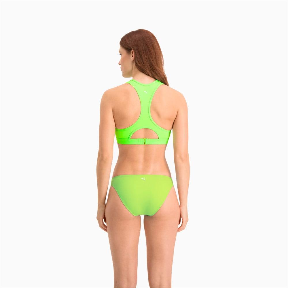 Изображение Puma Плавки PUMA Swim Women Classic Bikini Bottom #2: neon green