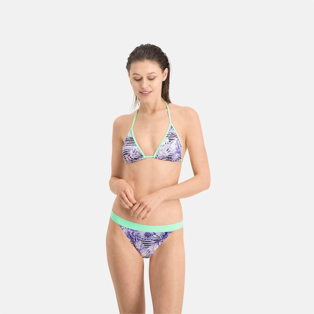 Görüntü Puma PUMA SWIM Desenli Kadın Bikini Altı #1