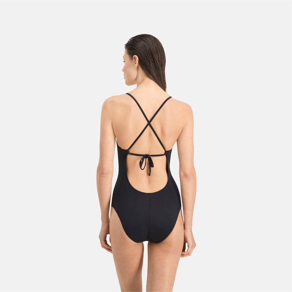 Зображення Puma Купальник PUMA Swim Women Crossback Swimsuit #2
