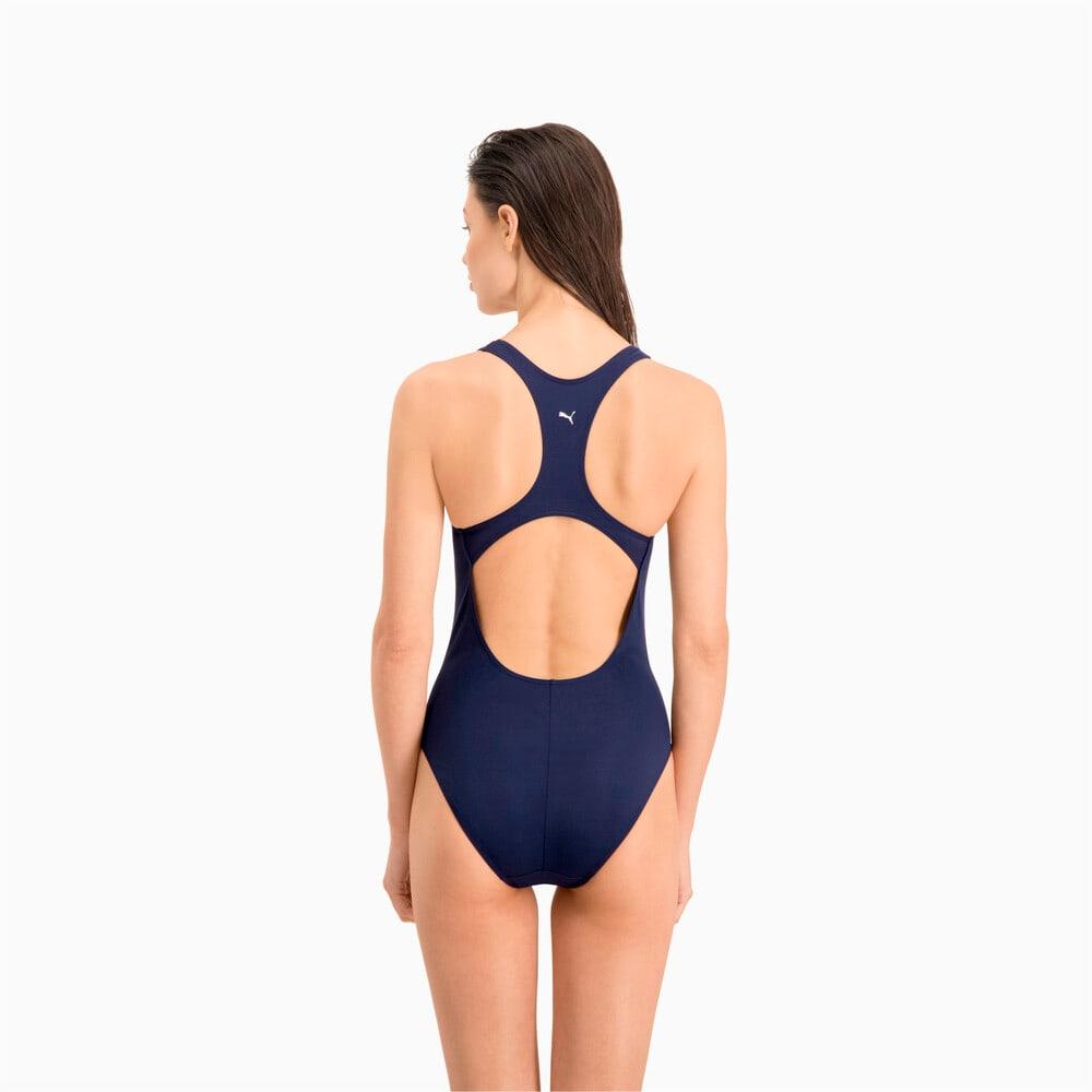 Image Puma Swim Women's Racer Back Swimsuit #2