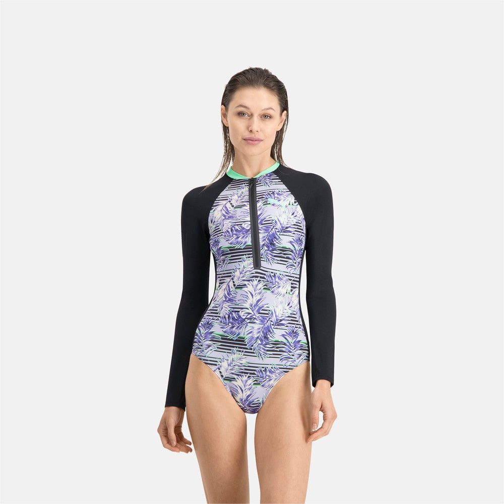 Изображение Puma Купальник PUMA Swim Women Long Sleeve Surf Suit #1