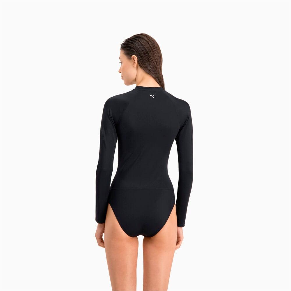 Зображення Puma Костюм для серфінгу PUMA Swim Women Long Sleeve Surf Suit #2: black