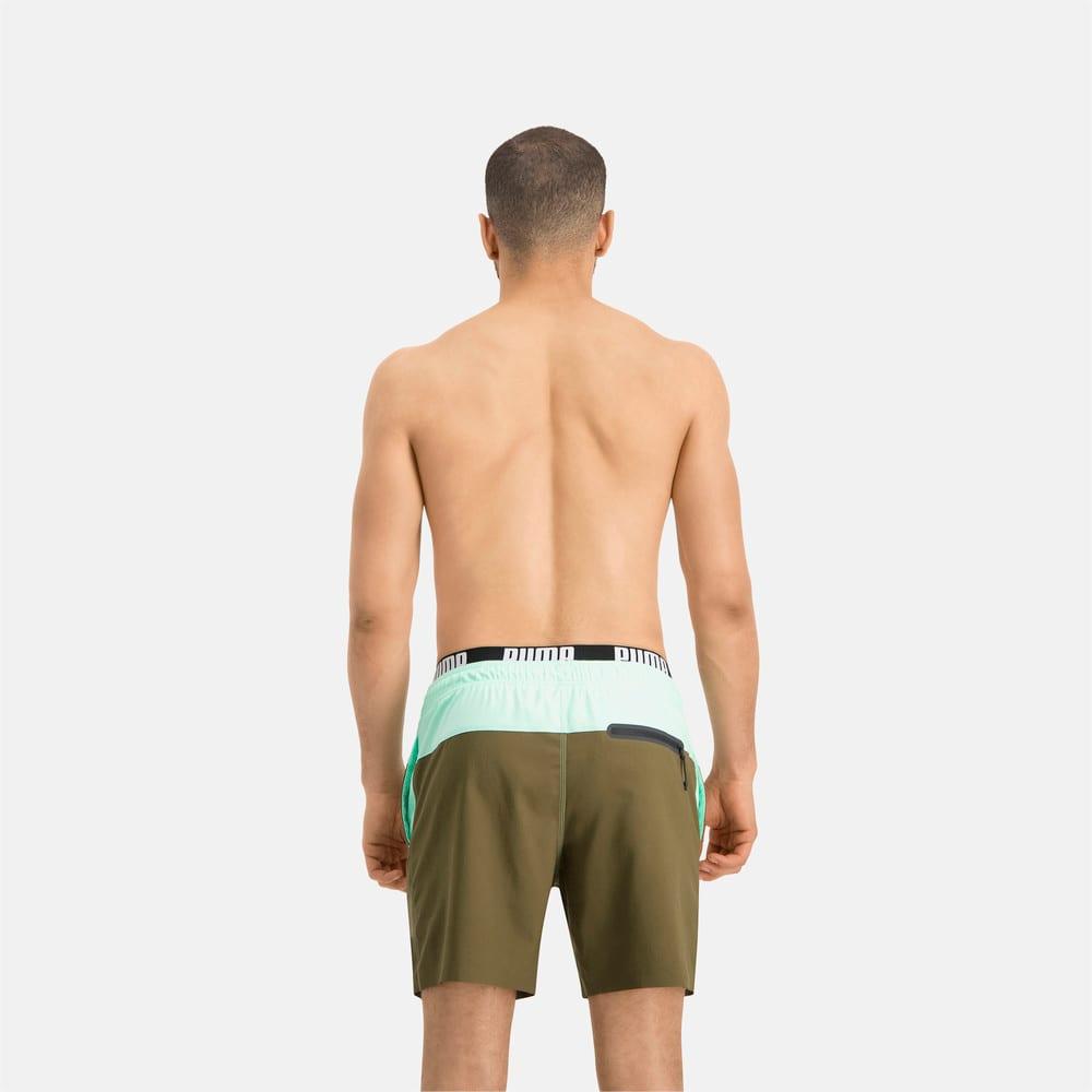 Зображення Puma Шорти для плавання PUMA Swim Men Logo Medium Length Swim Shorts #2