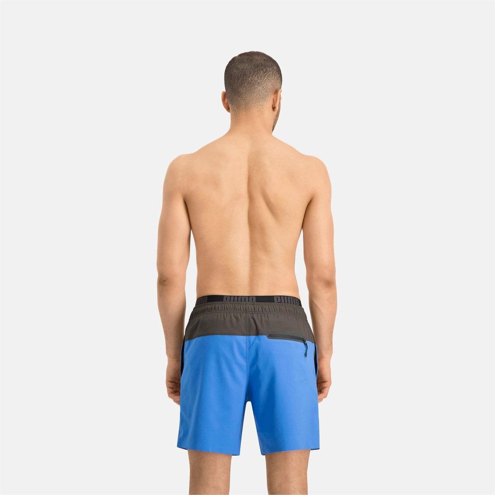 Изображение Puma Шорты для плавания PUMA Swim Men Logo Medium Length Swim Shorts #2