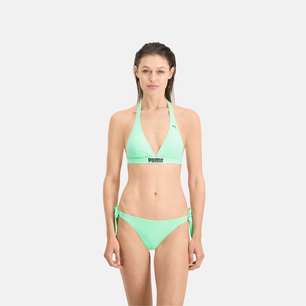 Зображення Puma Плавки PUMA Swim Women Side Strap Bikini Bottom #1: mint
