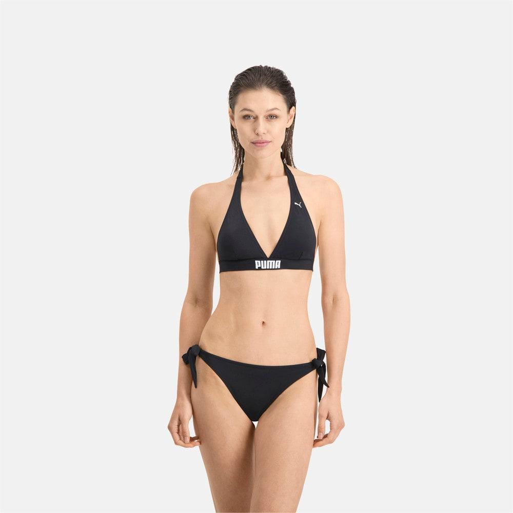 Изображение Puma Плавки PUMA Swim Women Side Strap Bikini Bottom #1