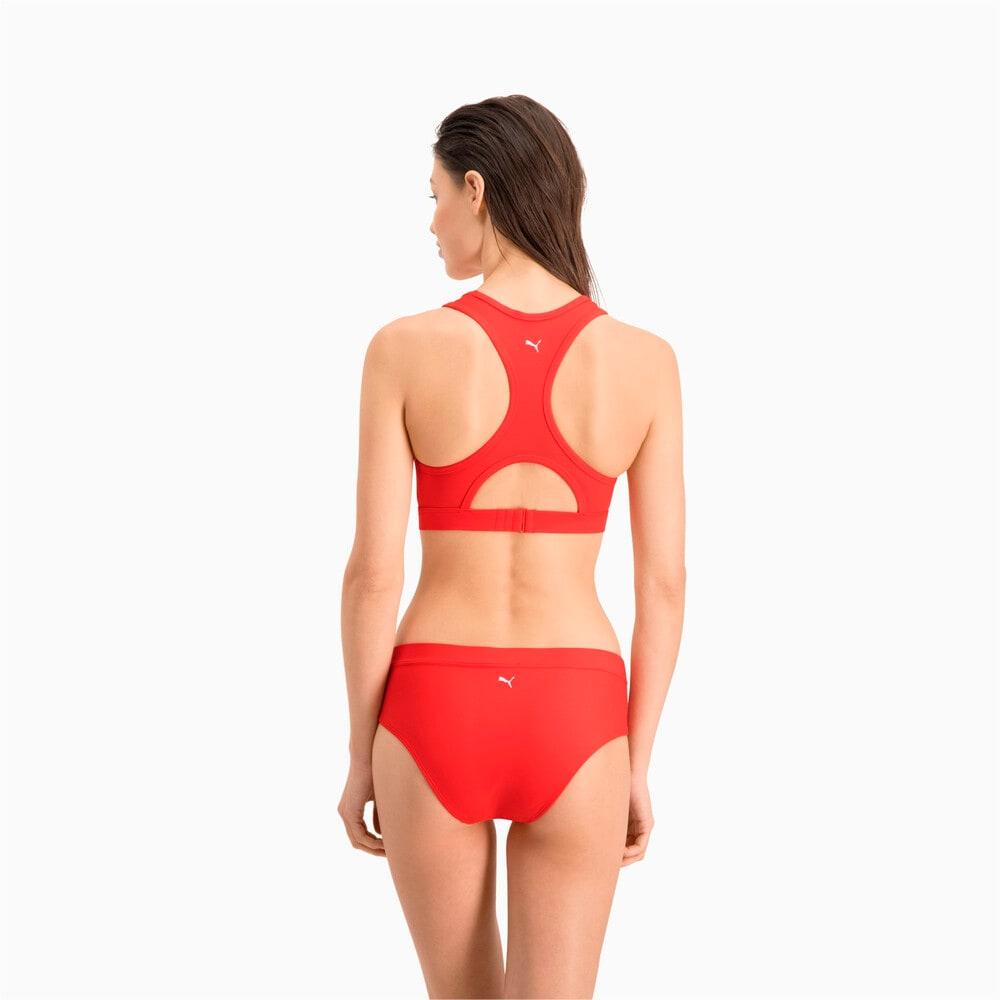 Изображение Puma Лиф для плавания PUMA Swim Women Racerback Swim Top #2: Red