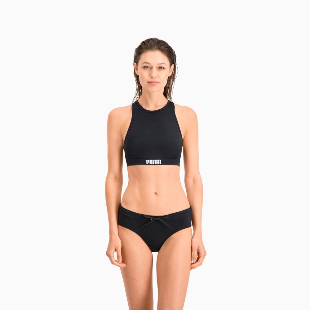 Зображення Puma Ліф для плавання PUMA Swim Women Racerback Swim Top #1