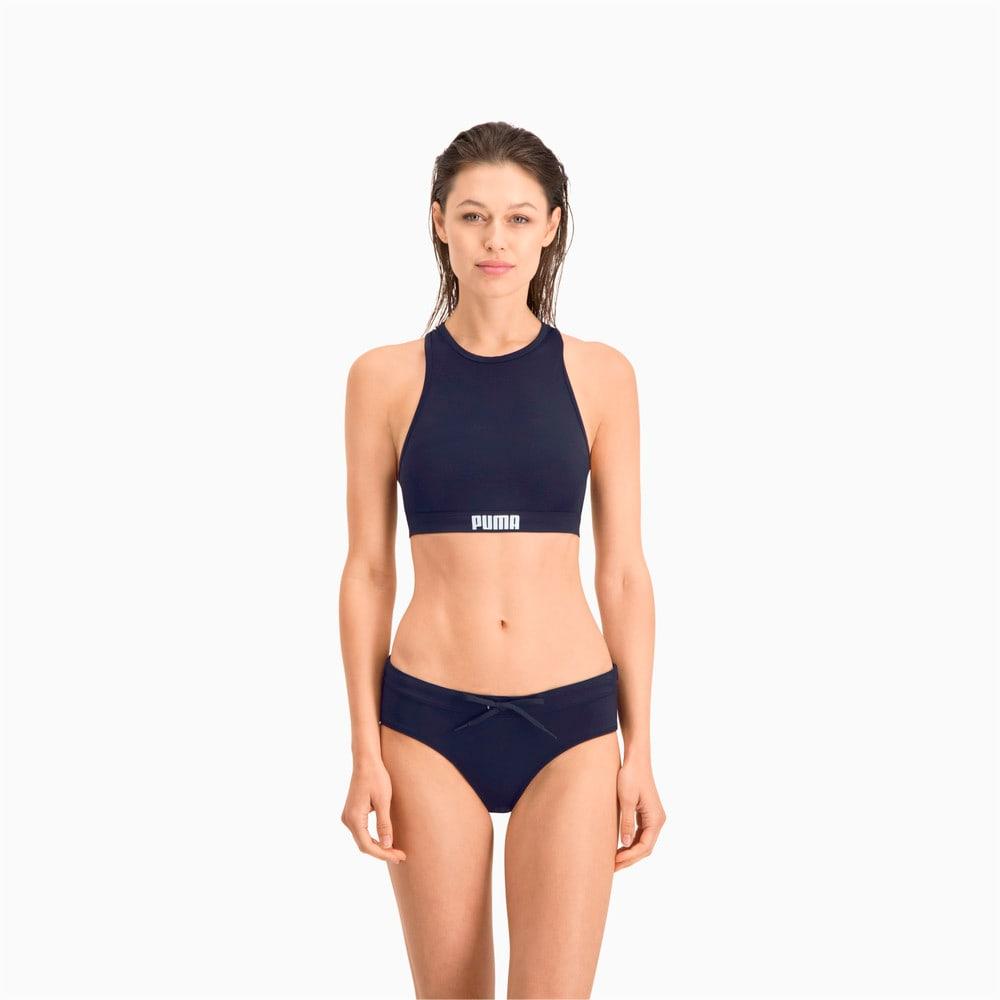 Зображення Puma Ліф для плавання PUMA Swim Women Racerback Swim Top #1: navy