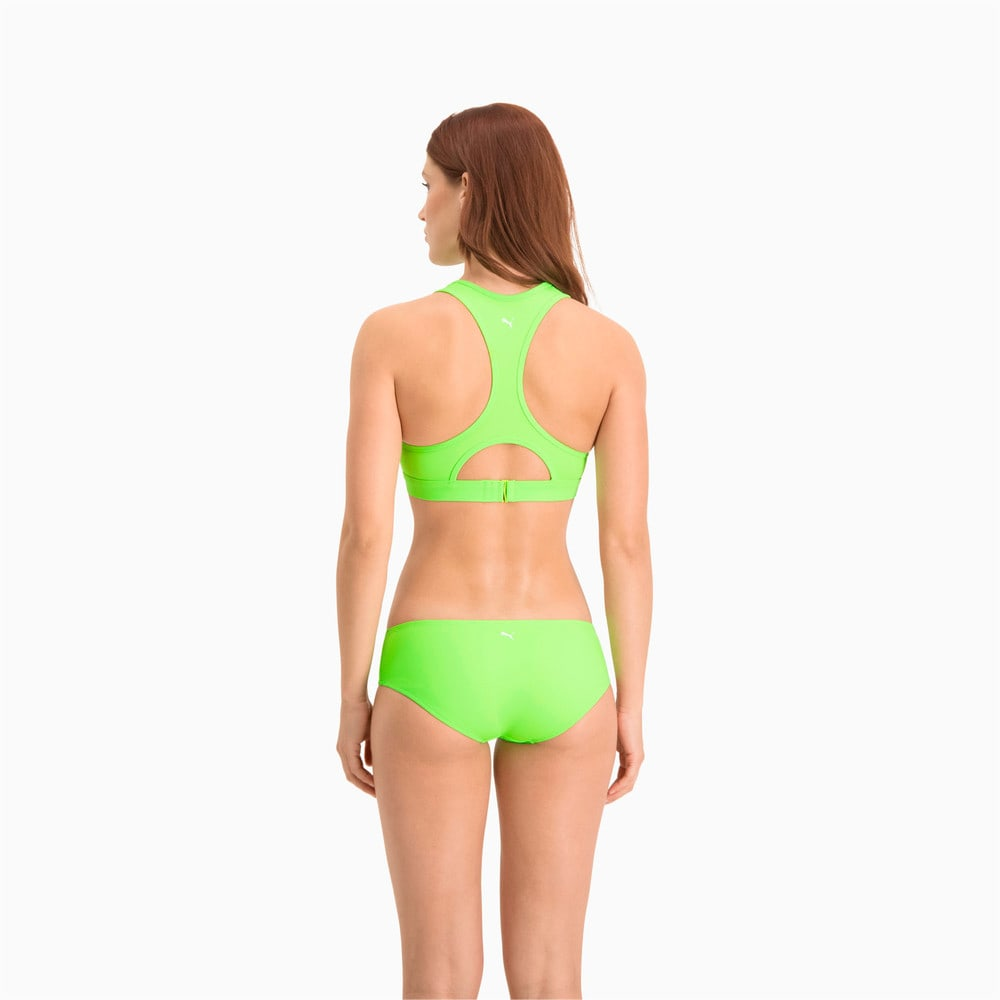 Изображение Puma Лиф для плавания PUMA Swim Women Racerback Swim Top #2: neon green