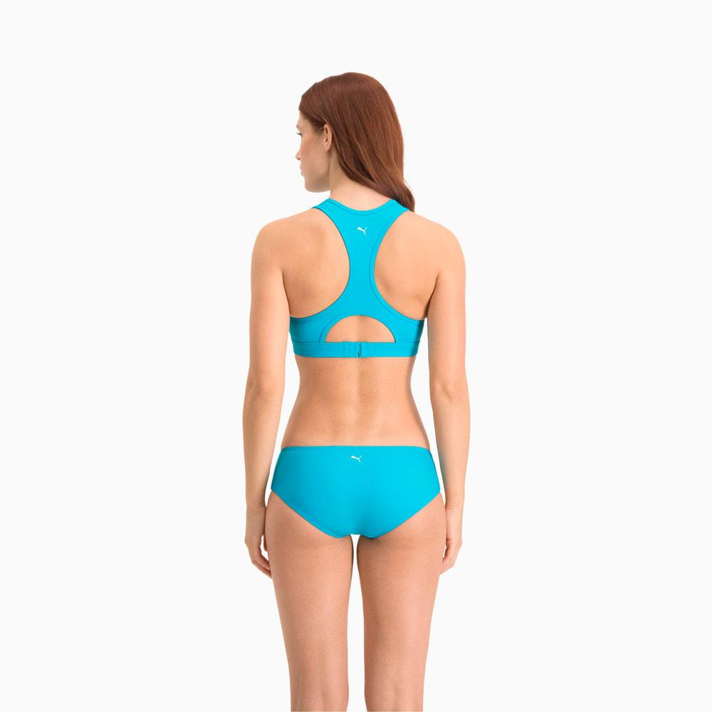 Зображення Puma Ліф для плавання PUMA Swim Women Racerback Swim Top #2: scuba blue