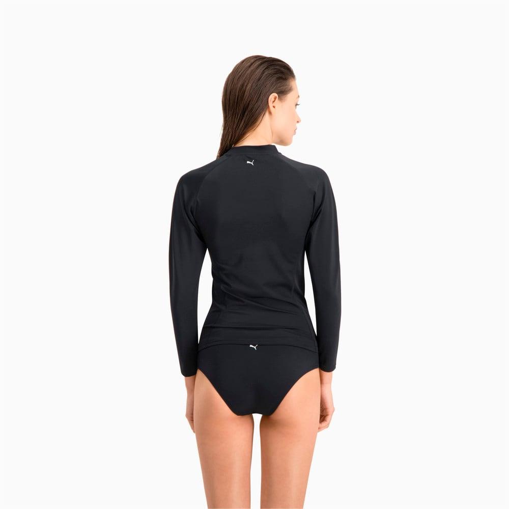 Зображення Puma Рашгард Swim Women's Long Sleeve Rash Guard #2: black
