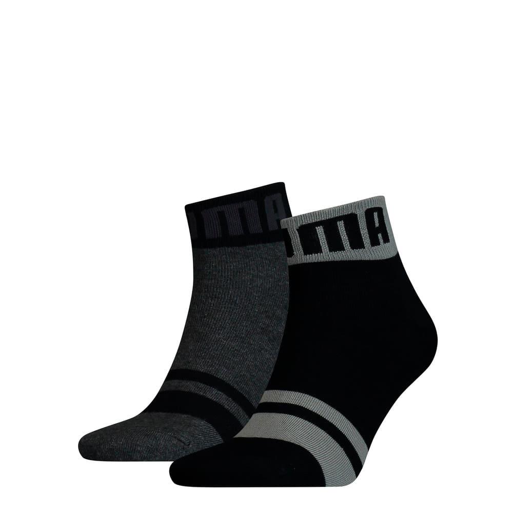 Изображение Puma Носки Seasonal Logo Men's Quarter Socks 2 Pack #1