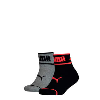 Изображение Puma Детские носки Seasonal Logo Youth Quarter Socks 2 Pack