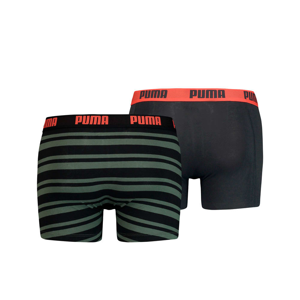 Изображение Puma Мужское нижнее белье Heritage Stripe Men's Boxers 2 Pack #2