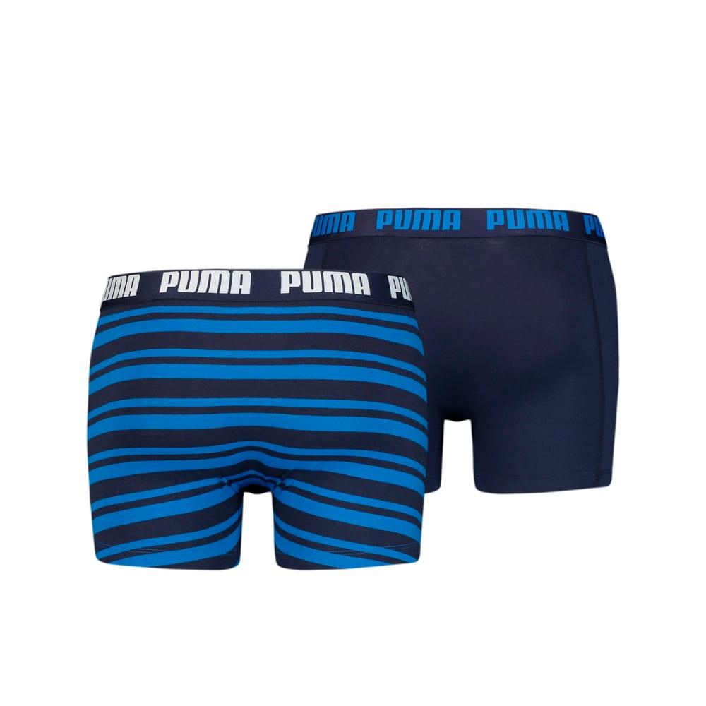 Зображення Puma Чоловіча спідня білизна Heritage Stripe Men's Boxers 2 Pack #2