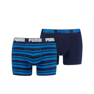 Imagen PUMA Boxers a rayas para hombre Heritage, paquete de 2 unidades