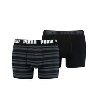 Изображение Puma Мужское нижнее белье Heritage Stripe Men's Boxers 2 Pack