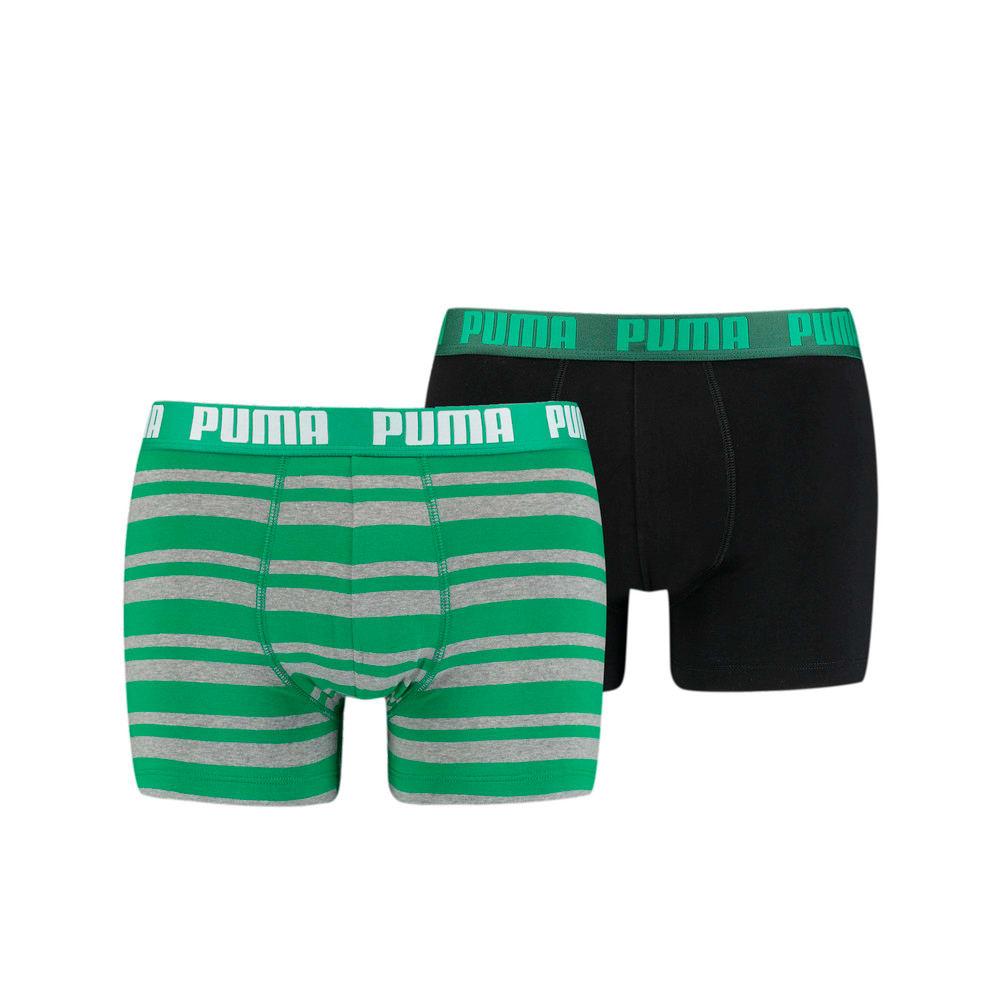 Изображение Puma Мужское нижнее белье Heritage Stripe Men's Boxers 2 Pack #1