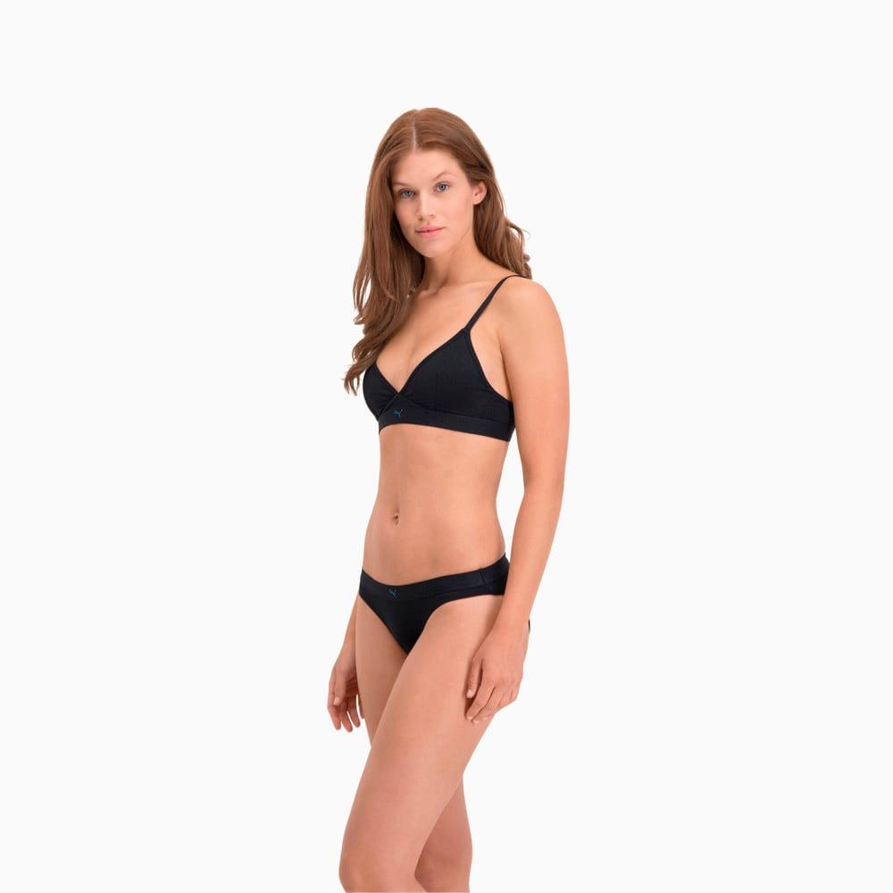 Изображение Puma Женское нижнее белье Sparkling Women's Bikini Briefs 2 Pack #2