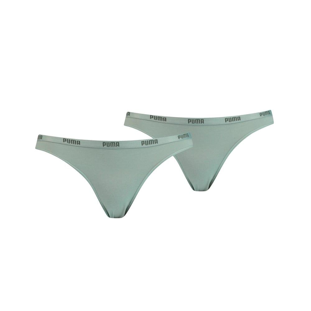 Изображение Puma Женское нижнее белье Women's Bikini Briefs 2 Pack #1