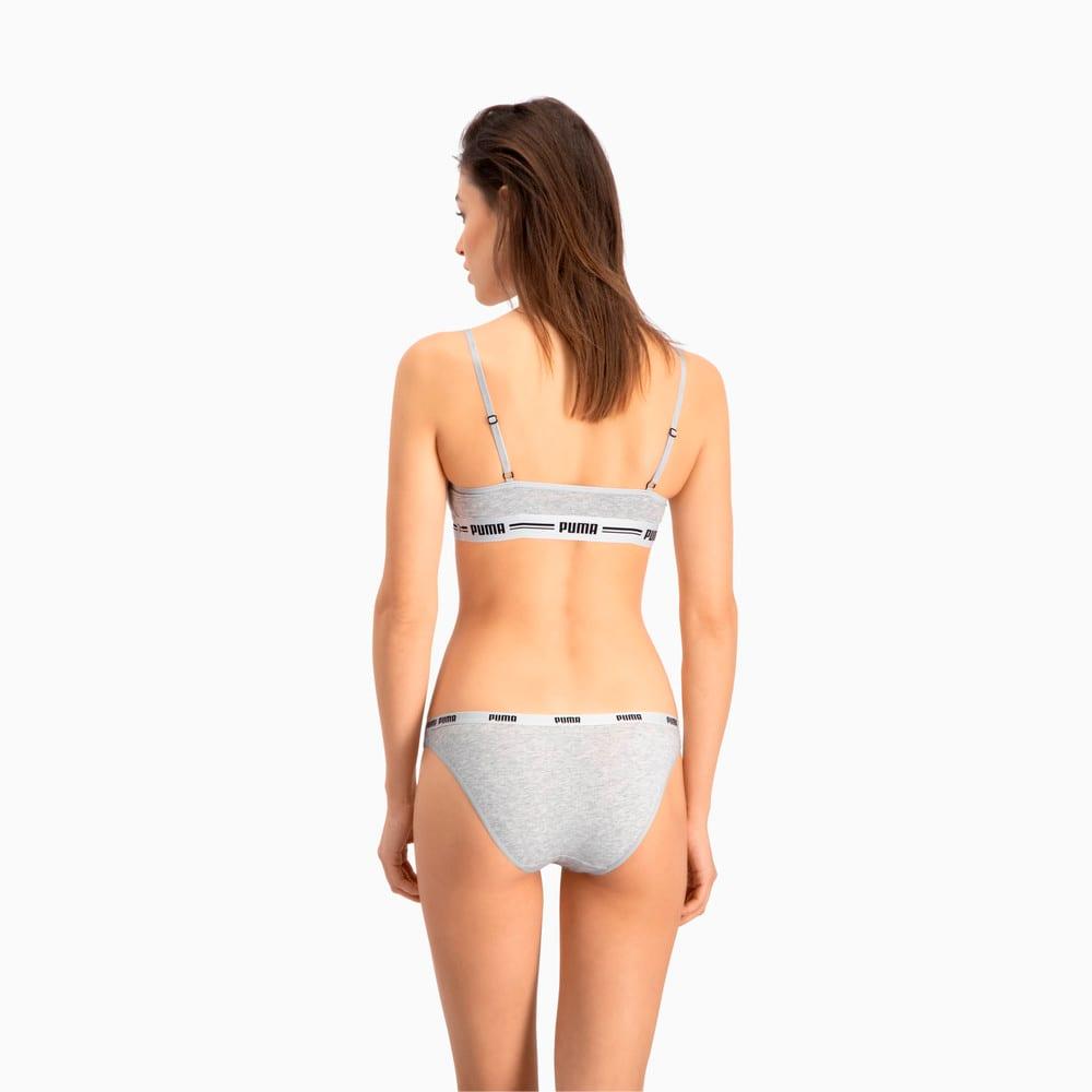 Изображение Puma Женское нижнее белье Women's Bikini Briefs 2 Pack #2
