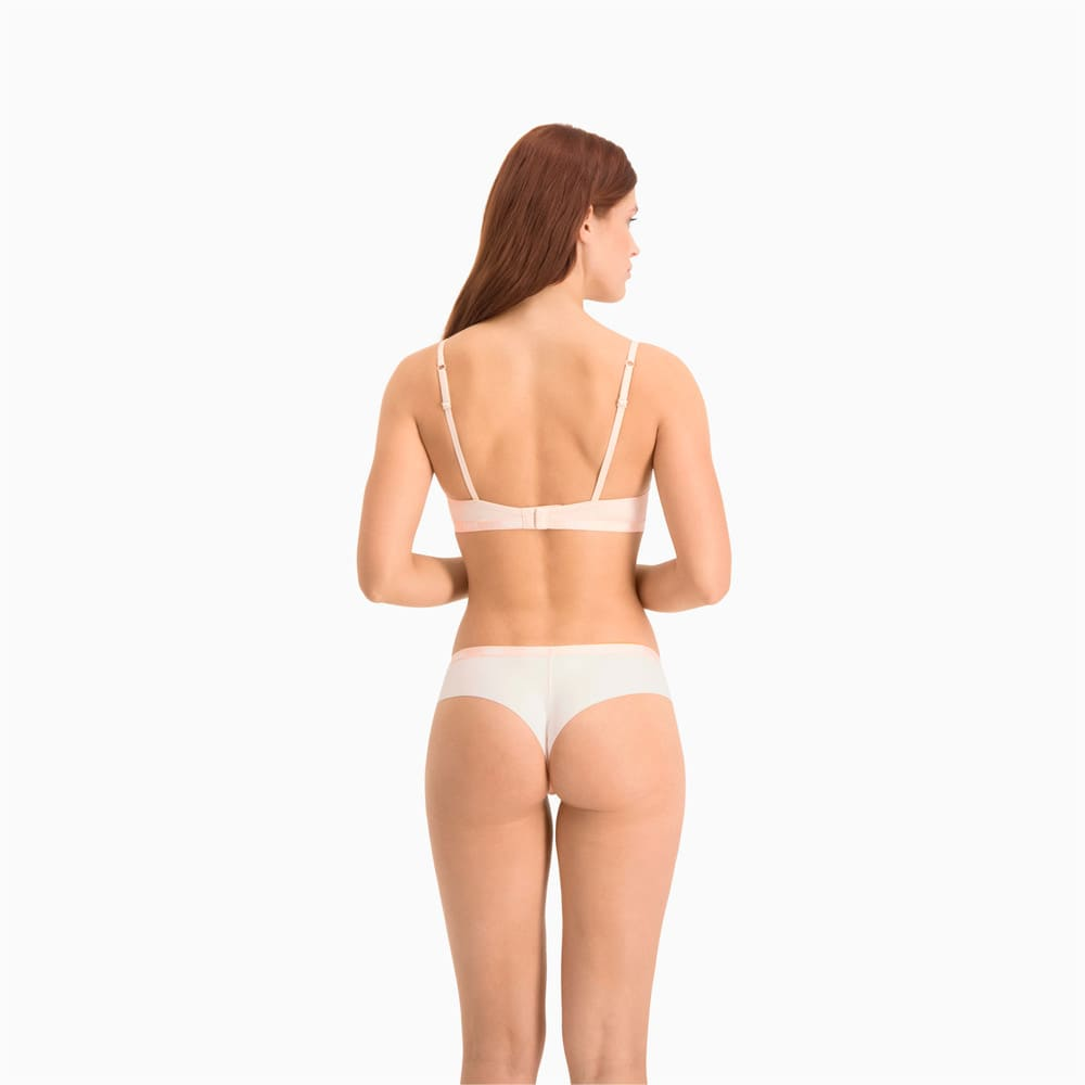 Изображение Puma Женское нижнее белье Microfibre Women's Brazilian Briefs 2 Pack #2