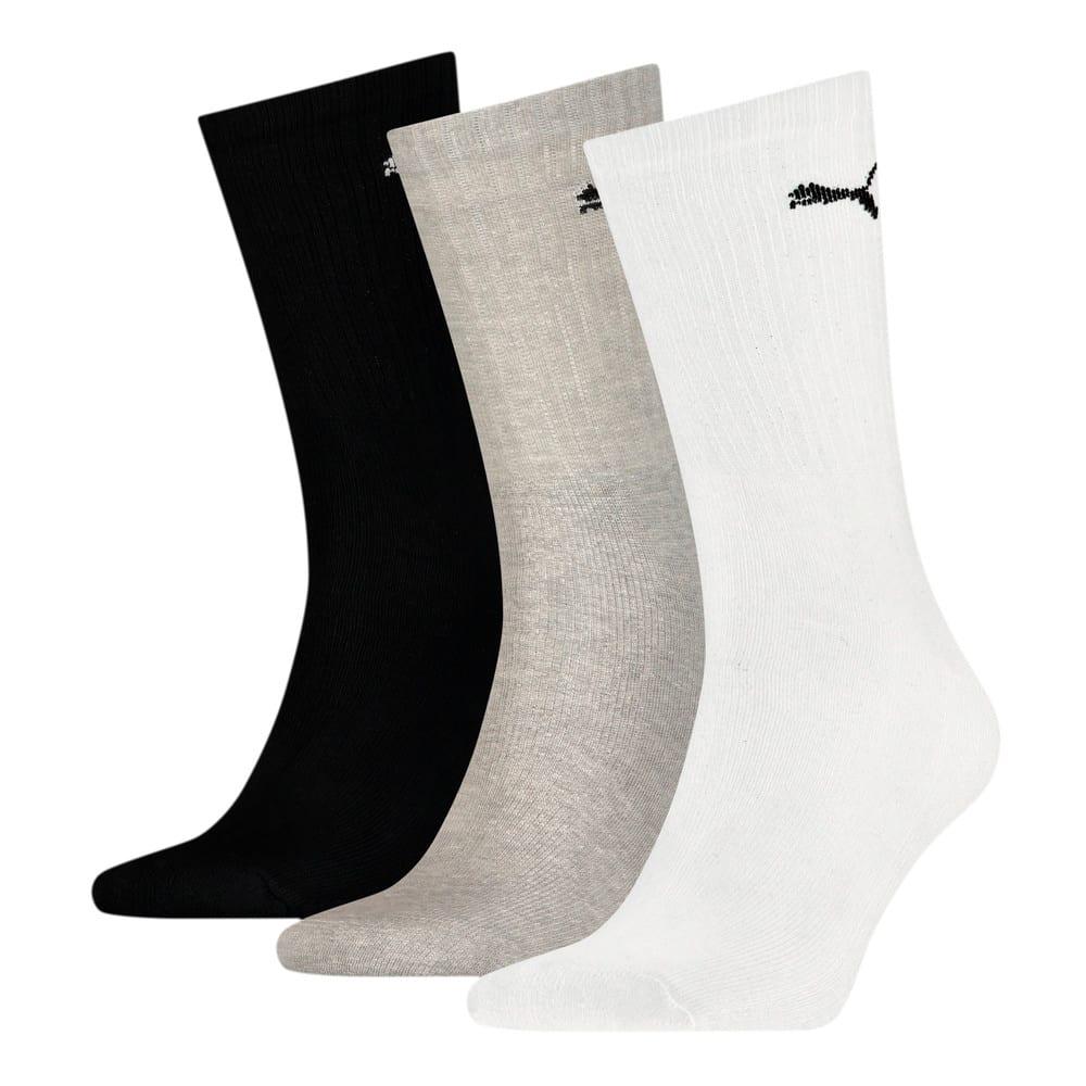 Зображення Puma Шкарпетки PUMA SPORT CREW LIGHTWEIGHT #1: white / grey / black