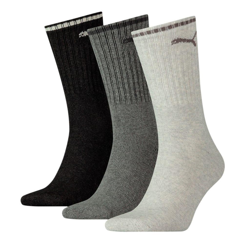 Изображение Puma Носки Unisex Sport Crew Stripe Socks 3 pack #1