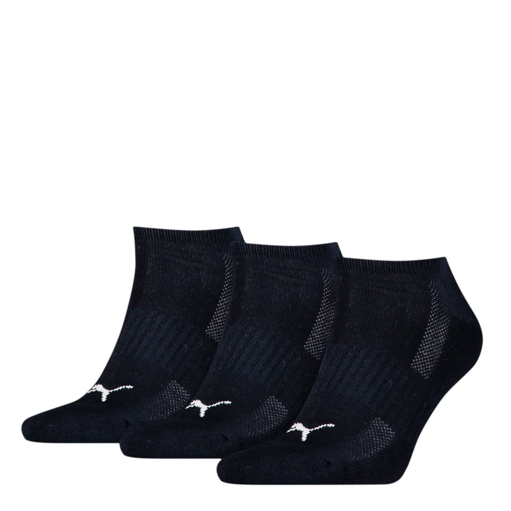 Изображение Puma Носки Unisex Cushioned Sneaker Socks 3 pack #1: navy
