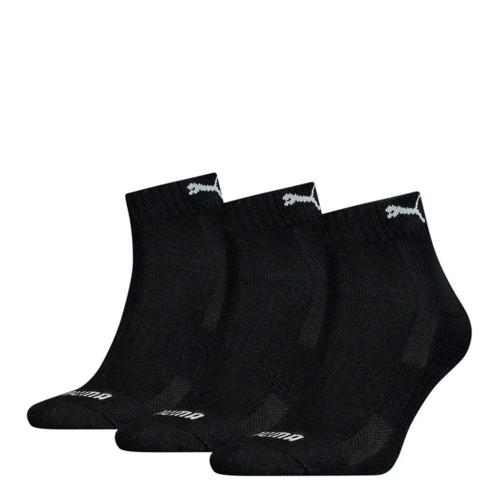 Зображення Puma Шкарпетки Unisex Cushioned Quarter Socks 3 pack #1: black
