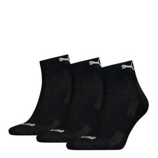 Изображение Puma Носки Unisex Cushioned Quarter Socks 3 pack
