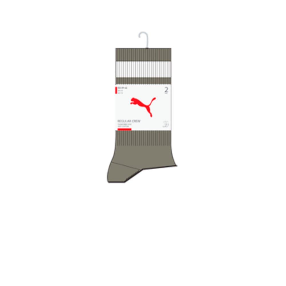 Изображение Puma Носки Unisex Crew Heritage Stripe Socks 2pack #2