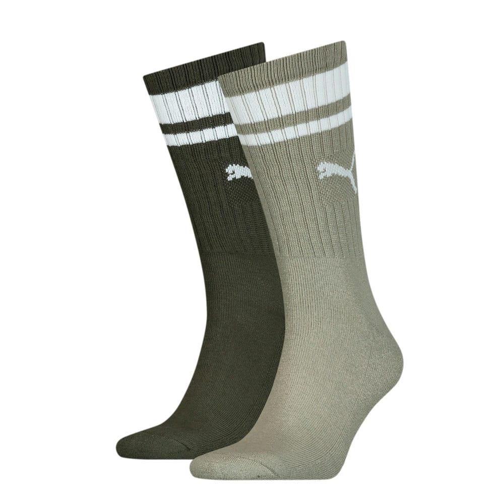 Изображение Puma Носки Unisex Crew Heritage Stripe Socks 2pack #1