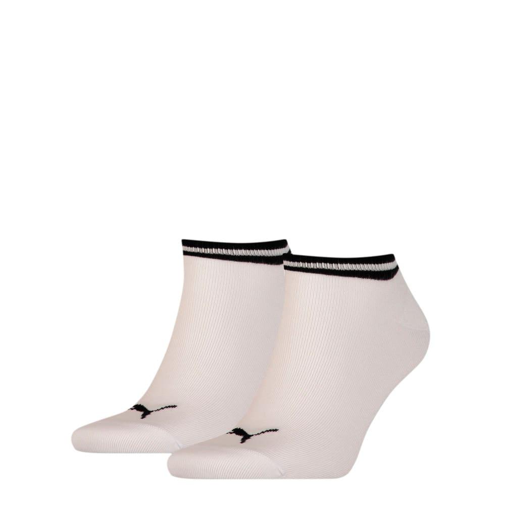 Görüntü Puma PUMA HERITAGE Sneaker Çorap (2'li Paket) #1