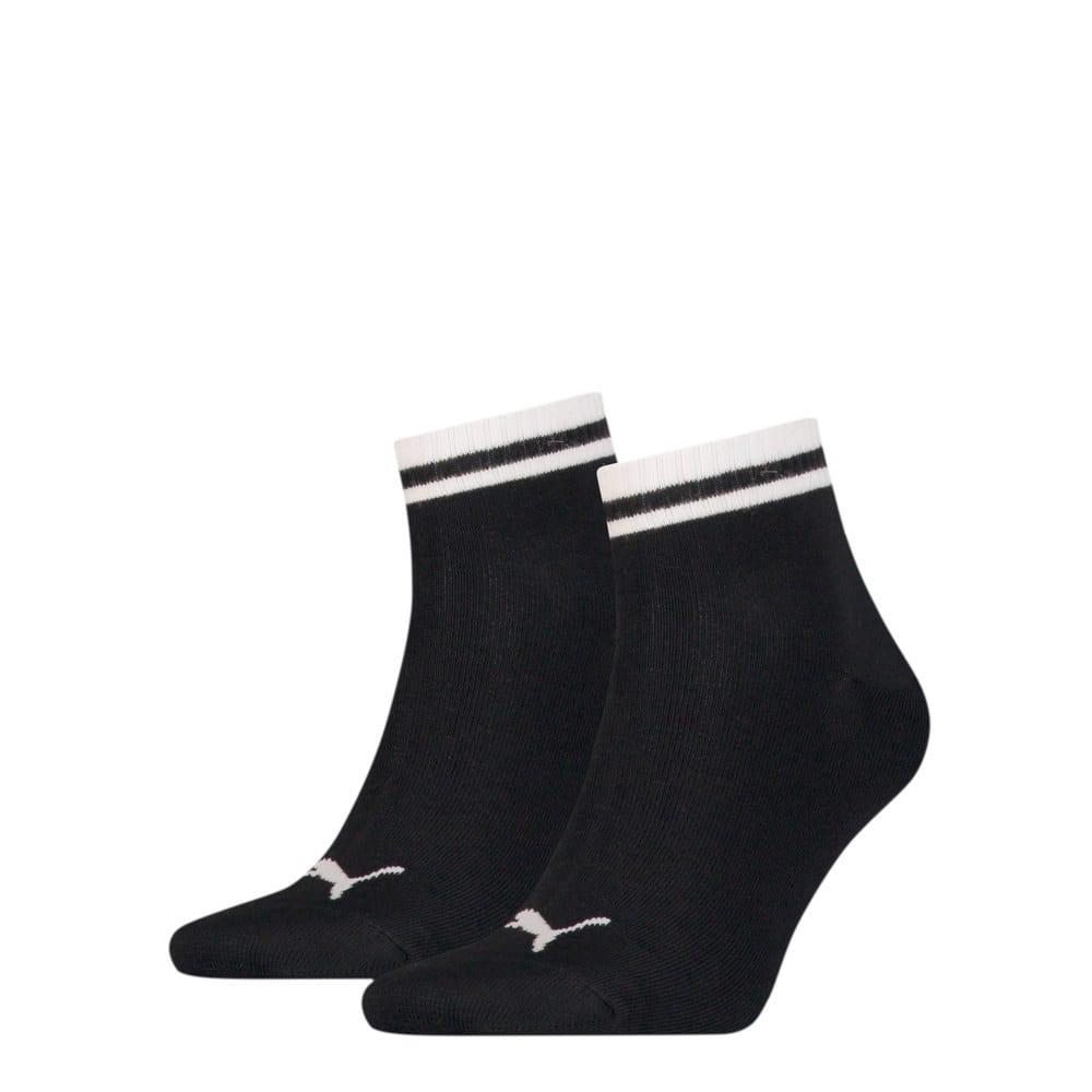 Зображення Puma Шкарпетки PUMA Unisex Heritage; набір з 2 пар #1: black