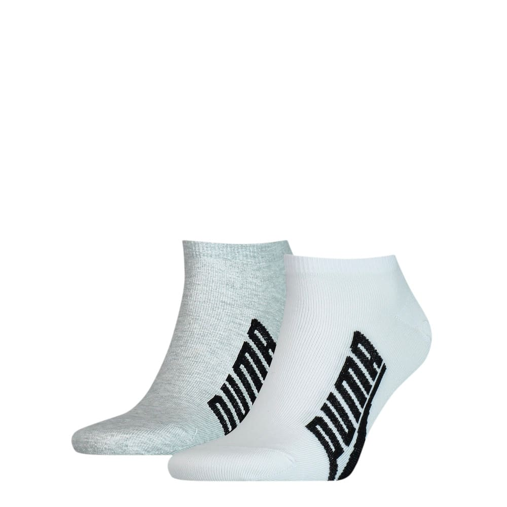 Изображение Puma Носки Unisex BWT Lifestyle Sneaker Socks 2pack #1: white / grey / black