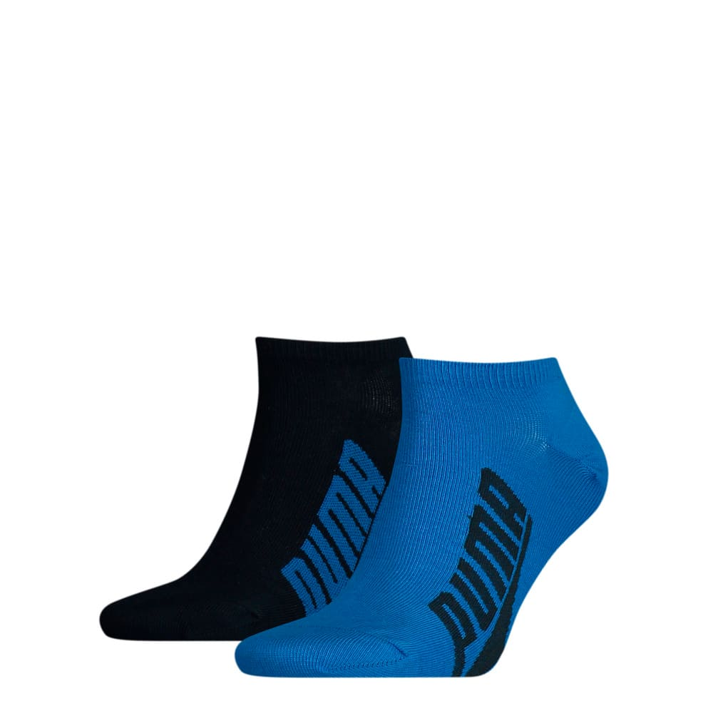 Изображение Puma Носки Unisex BWT Lifestyle Sneaker Socks 2pack #1: navy / grey / strong blue