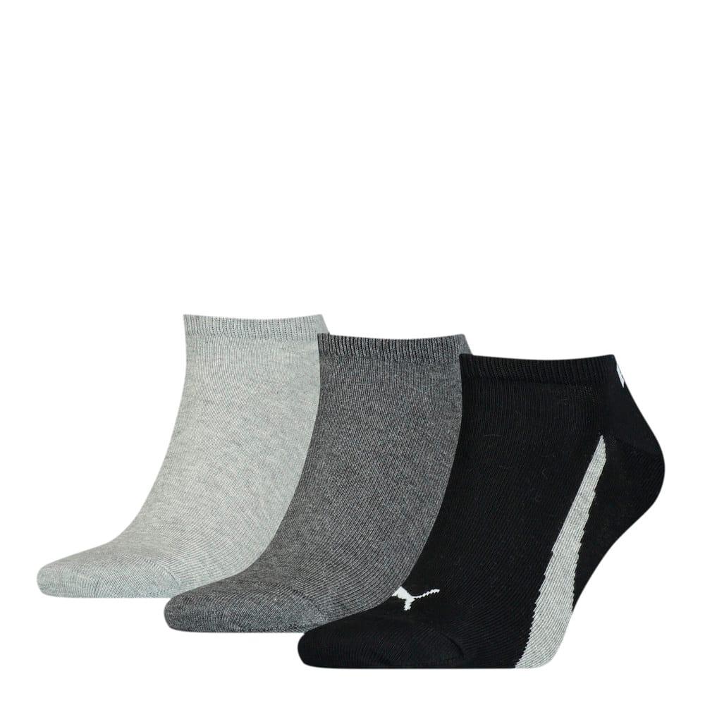 Зображення Puma Шкарпетки Unisex Lifestyle Sneaker Socks 3pack #1: black / white