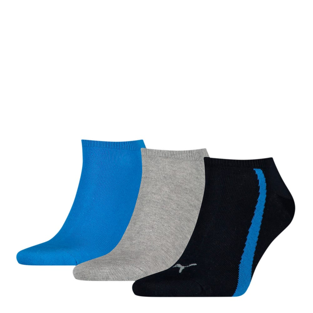 Изображение Puma Носки Unisex Lifestyle Sneaker Socks 3pack #1: navy / grey / strong blue