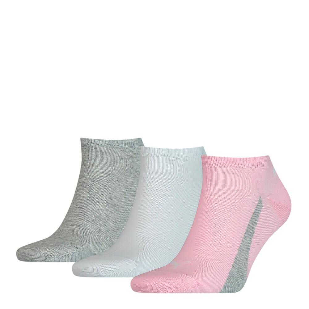 Зображення Puma Шкарпетки Unisex Lifestyle Sneaker Socks 3pack #1: basic pink