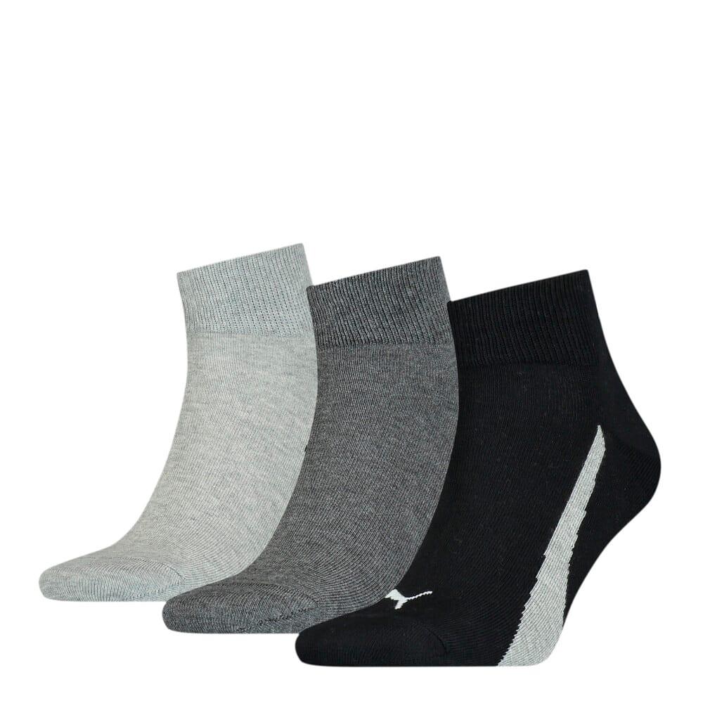 Зображення Puma Шкарпетки Unisex Lifestyle Quarter Socks 3 pack #1: black / white