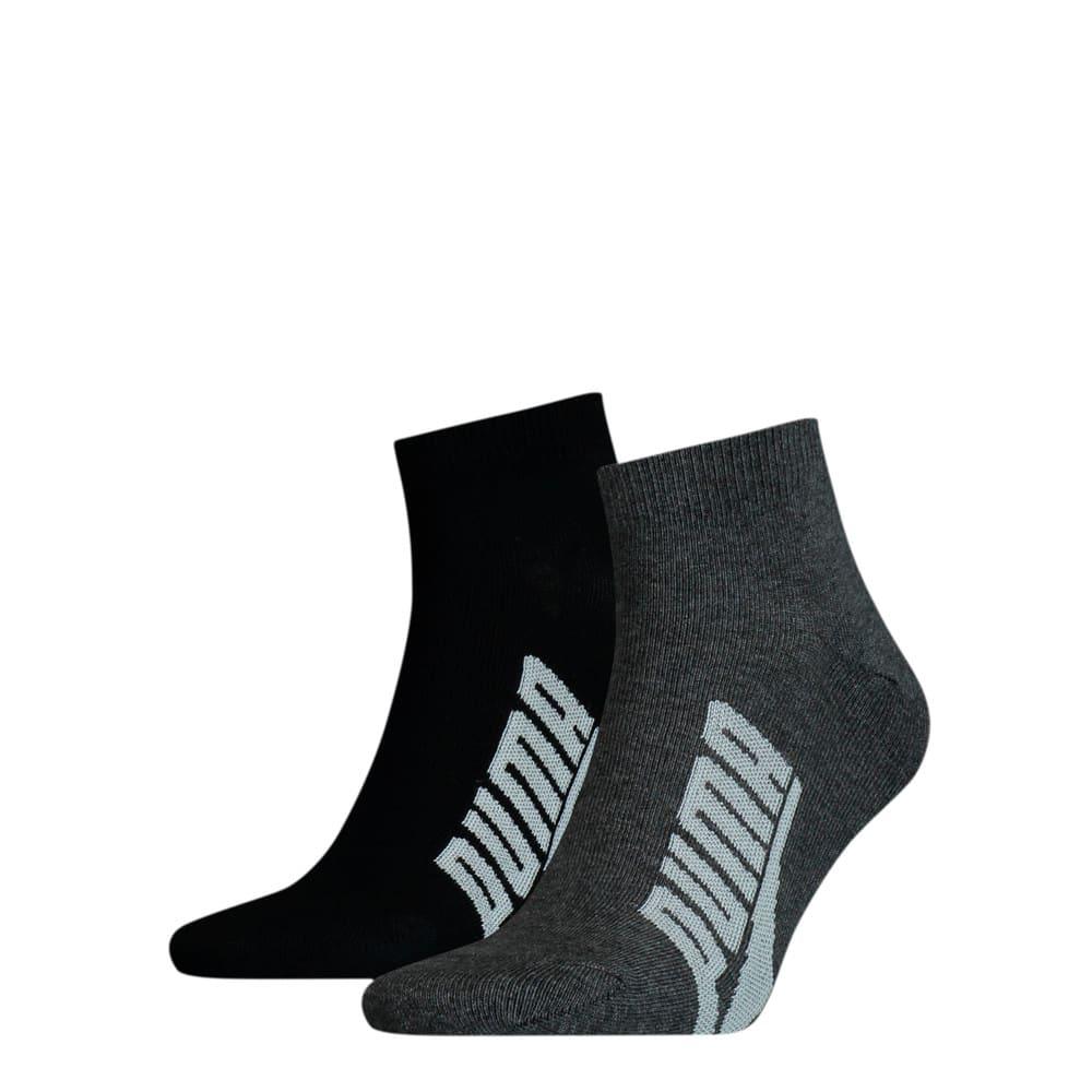 Зображення Puma Шкарпетки Unisex BWT Lifestyle Quarter Socks 2pack #1: black / white