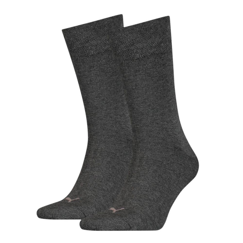 Зображення Puma Шкарпетки Men's Classic Piquee Socks 2 pack #1: anthracite