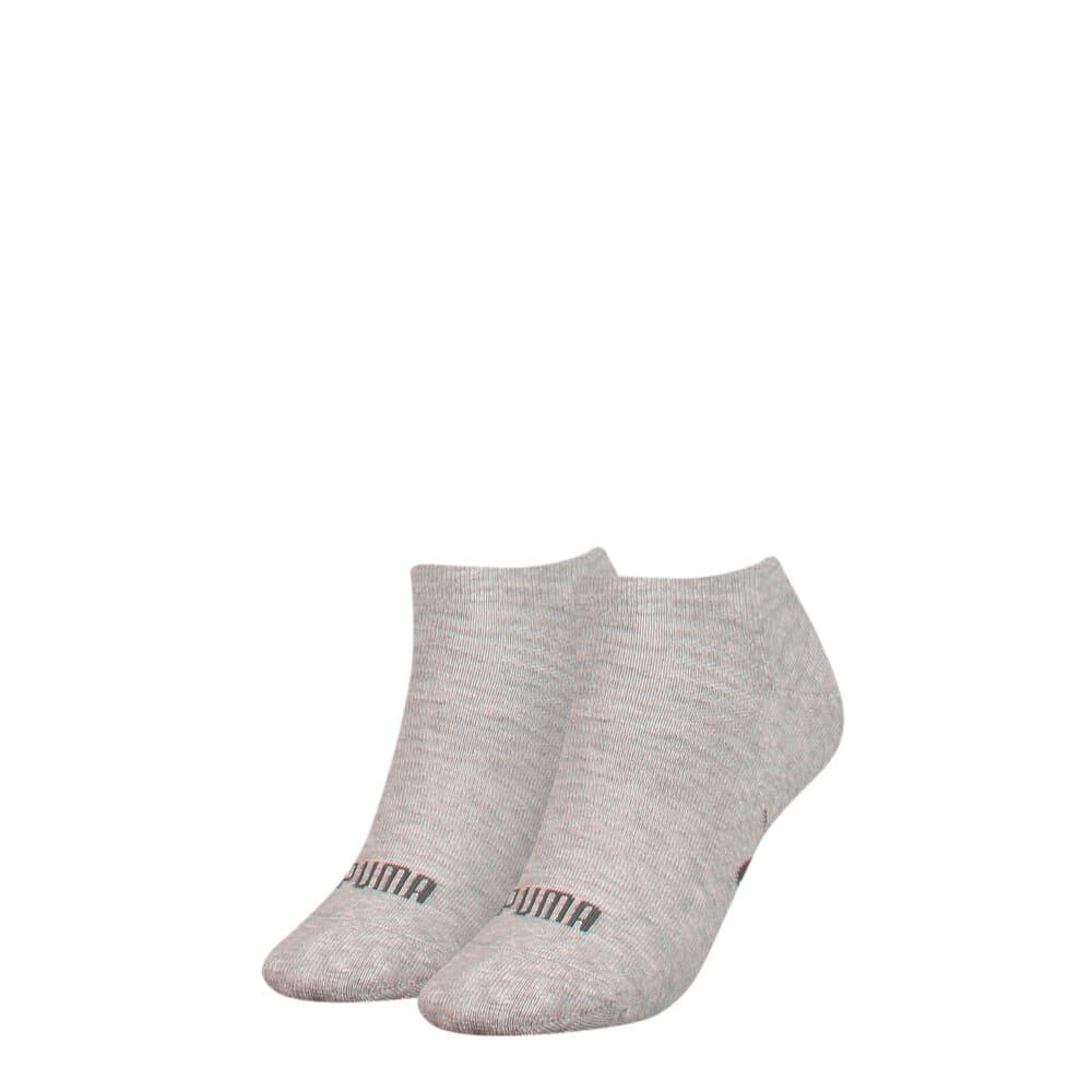 Зображення Puma Шкарпетки Women's Sneaker Socks 2 pack #1: grey melange