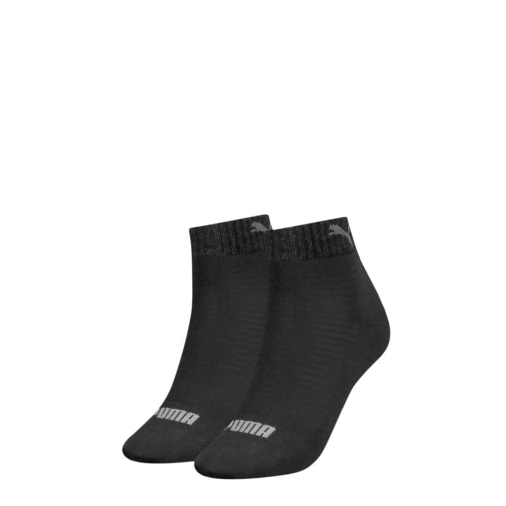 Зображення Puma Шкарпетки Women's Quarter Socks 2 pack #1: black